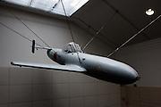 Tokyo, April 10 2014 -Aircraft on display inside Yushukan, Yasukuni's war museum.
