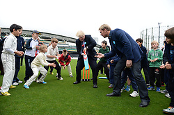 Mayor Boris and Shane Warne boost Olympic sporting and volunteering legacy at <br /> The Oval, London<br /> Thursday, 30th May 2013<br /> Picture by Andrew Parsons / i-Images