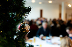 A general view of the County Suite with Christmas Decorations prior to kick off - Mandatory by-line: Ryan Hiscott/JMP - 30/11/2019 - RUGBY - Sandy Park - Exeter, England - Exeter Chiefs v Wasps - Gallagher Premiership Rugby