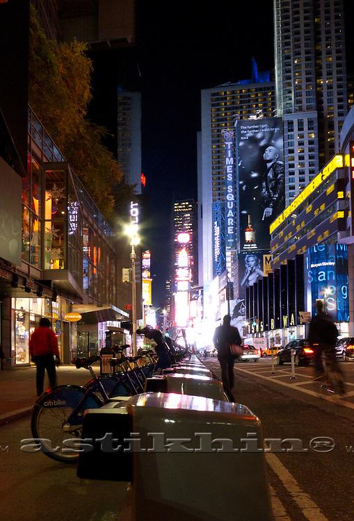 Times Square, Manhattan, New York City.