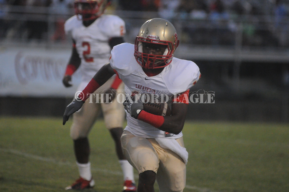Lafayette High's Tavon Joiner (10) vs. Desoto Central on Friday, September 6, 2013. Lafayette High won 21-6.