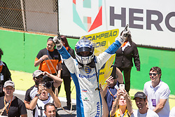 December 9, 2018 - Sao Paulo, Sao Paulo, Brazil - Nov, 2018 - #29 DANIEL SERRA (champion of 2018 season) of Eurofarma RC during the final stage of the 2018 championship of the Brazilian Stock Car, at Interlagos circuit, in Sao Paulo, Brazil. (Credit Image: © Paulo Lopes via ZUMA Wire) (Credit Image: © Paulo Lopes/ZUMA Wire)