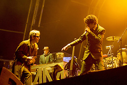 Beastie Boys on the main stage, the Connect festival in Inveraray.<br /> &copy;Pic : Michael Schofield.