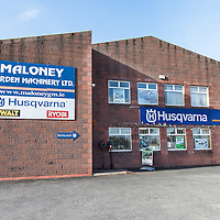 Shop Front of Maloney Garden Machinery Ltd, Shannon