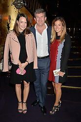 Left to right, ARABELLA GALLIERS-PRATT, the HON.PEREGRINE HOOD and his wife SERENA HOOD at a party to celebrate the launch of the Dee Ocleppo 2015 Pre Fall Collection benefiting the Walkabout Foundation held at Loulou's, 5 Hertford Street, London on 16th June 2015.