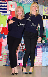 Joanna Lumley (L) with Zoe Ball at the launch in London of the 'Love, Mum' campaign by Marks & Spencer and Oxfam to raise money for mothers living in poverty,  Tuesday, 4th February 2014. Picture by Nils Jorgensen / i-Images
