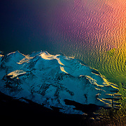 This image was taken while I was flying over Greenland and I call it the big foot island.
