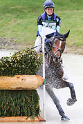 Wise Crack ridden by Jodie Amos refuses at the fence in the Equi-Trek CCI-L4* Cross Country during the Bramham International Horse Trials 2019 at Bramham Park, Bramham, United Kingdom on 8 June 2019.