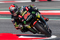 Jonas Folger of Germany and Monster Yamaha Tech 3 Team  rides during free practice for the MotoGP of Catalunya at Circuit de Catalunya on June 10, 2017 in Montmelo, Spain.(ALTERPHOTOS/Rodrigo Jimenez)