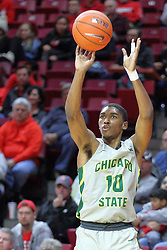 NORMAL, IL - November 13: Anthony Harris during a college basketball game between the ISU Redbirds  and the Chicago State Cougars on November 13 2018 at Redbird Arena in Normal, IL. (Photo by Alan Look)