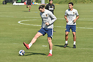 Zlatan Ibrahimovic first training session with Los Angeles Galaxy - 30 March 2018