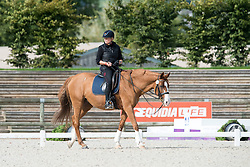 Brenner Hannelore, (GER), Women Of The World<br /> Grade IV Team Test<br /> Para-Dressage FEI European Championships Deauville 2015<br /> &copy; Hippo Foto - Jon Stroud<br /> 16/09/15