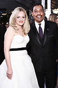 Elisabeth Moss, and David White, National Executive Director, SAG-AFTRA
