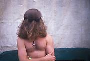 Hippy ,Glastonbury, 1992.