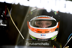 March 9, 2018 - Sao Paulo, Sao Paulo, Brazil - Mar, 2018 - Qualifying training for the pair stage of the Stock Car 2018, at the Autodromo de Interlagos, in São Paulo, this Friday (9). The pilots DANIEL SERRA and JOÃO PAULO OLIVEIRA of the team EUROFARMA-RC were in pole position.  In the photo the pilot RUBENS BARRICHELLO of the team FULL TIME concentrates in the cockpit of his car. (Credit Image: © Marcelo Chello via ZUMA Wire)