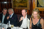 PATRICK SEGUIN; TONY SHAFRAZI; MRS. NOEL GRUNWALDT; ( MRS. RICHARD PRINCE);  RICHARD PRINCE. Richard Prince opening at the Serpentine gallery and afterwards at Annabels. London. 25 June 2008 *** Local Caption *** -DO NOT ARCHIVE-© Copyright Photograph by Dafydd Jones. 248 Clapham Rd. London SW9 0PZ. Tel 0207 820 0771. www.dafjones.com.