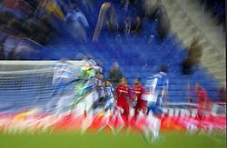 November 27, 2017 - Barcelona, Spain - La Liga match between RCD Espanyol v Real Betis Balompie,in Barcelona, on November 27, 2017. Photo: Joan Valls/Urbanandsport/Nurphoto  (Credit Image: © Joan Valls/NurPhoto via ZUMA Press)