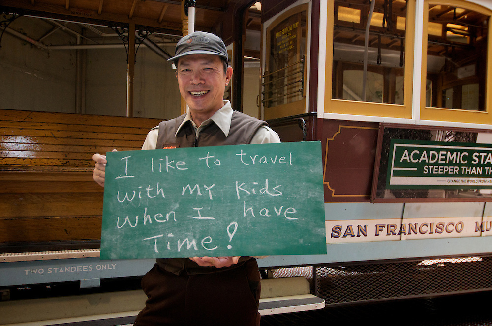 Stanley Chan, Cable Car Division Conductor| I like to Travel with my Kids | I am Muni.
