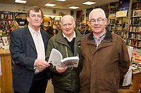 Founder of the Expect Success Academy, Galway based business and marketing strategist John Mulry launched his first book Your Elephant's Under Threat. At the launch was Alan Mulry, Paddy Glynn and Tony Mulry.<br /> Your Elephant's Under Threat will be available from www.amazon.com and Charlie Byrne&rsquo;s Bookshop Galway from February 28th and retails at &euro;19.99<br /> &nbsp;Photo:Andrew Downes