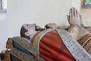 Tomb of Henry Howard, Earl of Surrey, died 1547, Framingham church, Suffolk, England, UK