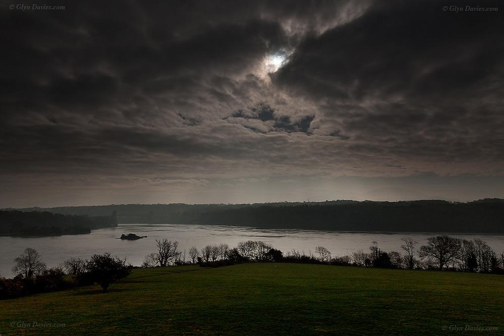 Solar Eclipse Menai Bridge 2015