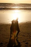 21 October 2017: Jessica Wellman gets engaged to Kurt Keblesh on the beach in Huntington Beach, CA. ©ShellyCastellano.com