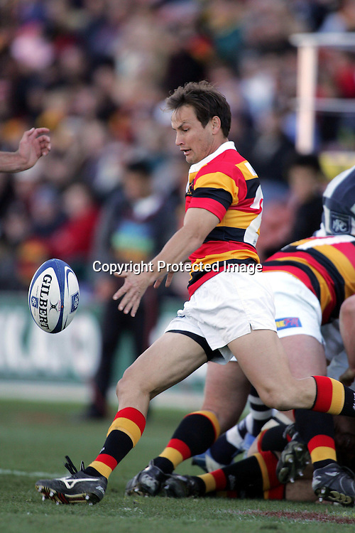 Rhys Duggan during the NPC Division One match between Auckland and Waikato at Waikato Stadium, Hamilton, New Zealand on Saturday, 28 August, 2004.<br />