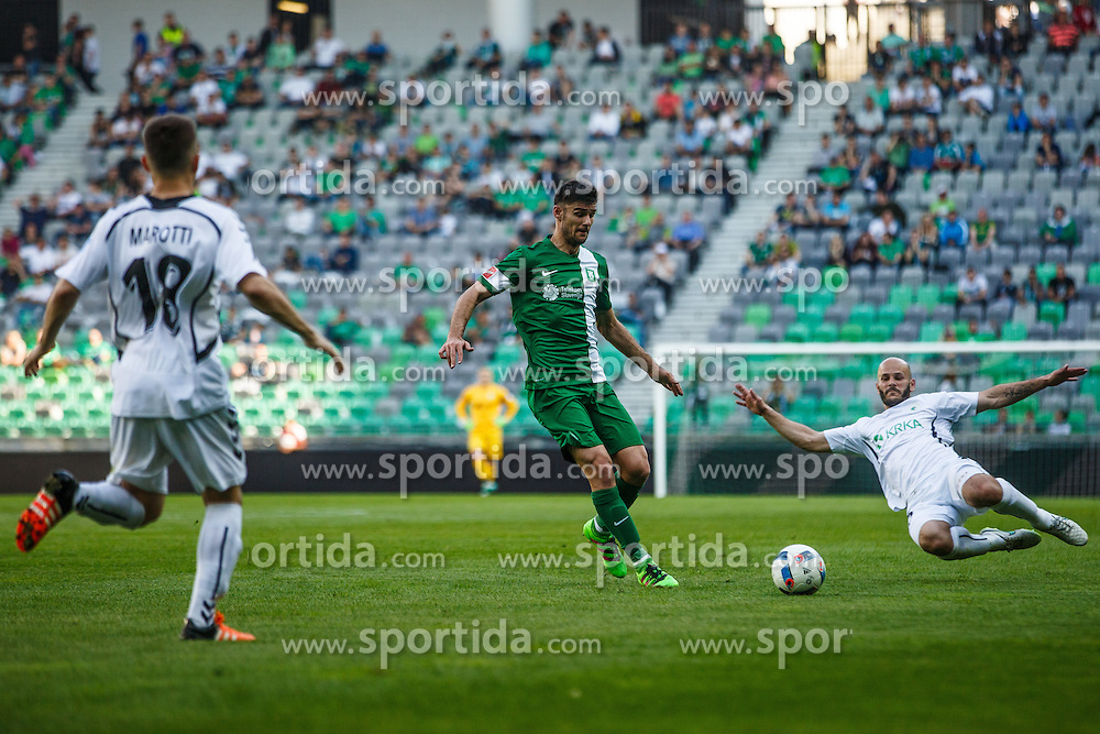 Rok Kronaveter #7 of NK Olimpija Ljubljana during Ljubljana in Round #36 of Prva liga Telekom Slovenije 2015/16, on May 21, 2016, in Stozice, Ljubljana, Slovenia. Photo by Grega Valancic / Sportida