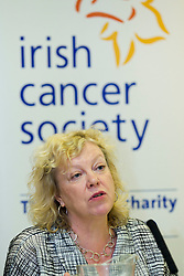 No fee for Repro: 4/07/2012.Amanda Amos, Professor of Health Promotion, Centre for Population Health Sciences, University of Edinburgh guest speaker at the ?Women and Smoking: Time to Face the Crisis? conference today where the Irish Cancer Society highlighted how the tobacco industry is aggressively targeting women and girls in the hope to recruit more women smokers. The conference, held in association with the National Women's Council of Ireland, addessed the crisis of women and smoking and the fact that for the first time more women in Ireland are dying from lung cancer than breast cancer. Picture: Andres Poveda