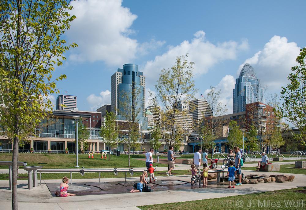 Smale Park at Cincinnati's Riverfront