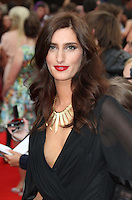 Jessica Knappett The Inbetweeners Movie world premiere, Vue Cinema, Leicester Square, London, UK, 16 August 2011:  Contact: Rich@Piqtured.com +44(0)7941 079620 (Picture by Richard Goldschmidt)