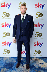 Andrew Flintoff attending the TRIC Awards 2019 50th Birthday Celebration held at the Grosvenor House Hotel, London.