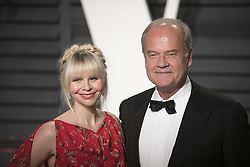 February 26, 2017 - Beverly Hills, California, U.S - Kelsey Grammer & Kayte Walsh on the red carpet at the 2017 Vanity Fair Oscar Party held at the Wallis Annenberg Center in Beverly Hills, California, Sunday February 26, 2017. (Credit Image: © Prensa Internacional via ZUMA Wire)