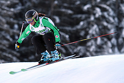 Sasa Faric of Slovenia at FIS World Cup Ski cross race, on December 20, 2009 in Innichen / San Candido, Italy.(Photo by Grega Stopar)