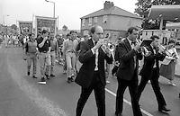1990 Yorkshire Miner's Gala. Rotherham.