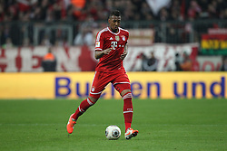 15.03.2014, Allianz Arena, Muenchen, GER, 1. FBL, FC Bayern Muenchen vs Bayer 04 Leverkusen, 25. Runde, im Bild Jerome Boateng #17 (FC Bayern Muenchen) // during the German Bundesliga 25th round match between FC Bayern Munich and Bayer 04 Leverkusen at the Allianz Arena in Muenchen, Germany on 2014/03/16. EXPA Pictures © 2014, PhotoCredit: EXPA/ Eibner-Pressefoto/ Kolbert<br /> <br /> *****ATTENTION - OUT of GER*****