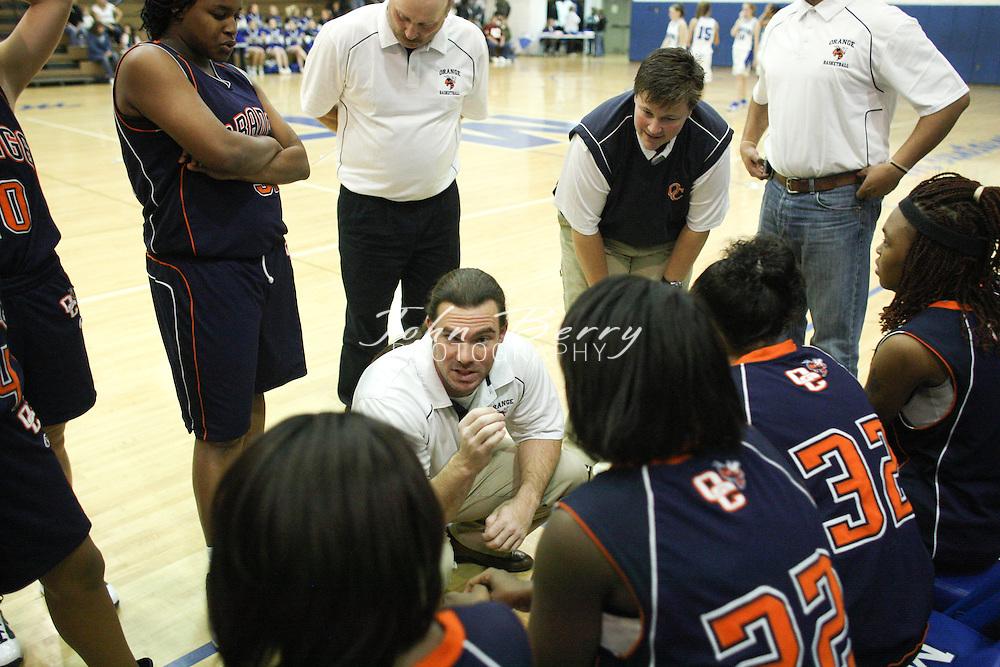 MCHS Varsity Girls Basketball .vs Orange .12/12/09