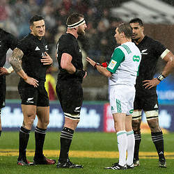 Sonny Bill Williams  about to get red carded during game 9 of the British and Irish Lions 2017 Tour of New Zealand, the second Test match between  The All Blacks and British and Irish Lions, Westpac Stadium, Wellington, Saturday 1st July 2017<br /> (Photo by Kevin Booth Steve Haag Sports)<br /> <br /> Images for social media must have consent from Steve Haag