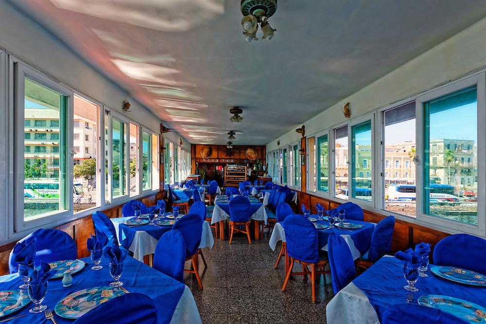 Havana Vieja, Cuba. Restaurante Los Marinos, Havana Vieja, Cuba.