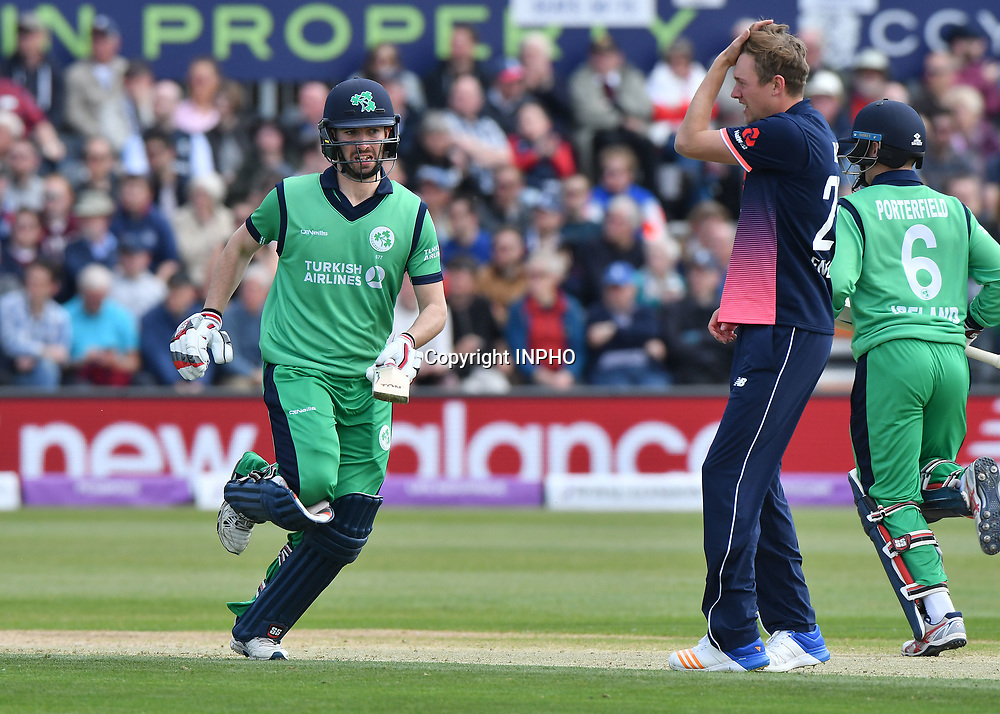 1st One Day International, Bristol Cricket Ground, England 5/5/2017<br /> England vs Ireland<br /> Ireland's Andrew Balbirnie<br /> Mandatory Credit &copy;INPHO/Presseye/Rowland White