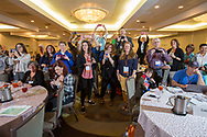 Attendees during National Brain Tumor Society Head to the Hill training event at the Hilton Crystal City hotel in Arlington, VA on May 7, 2018. (Photo by Alan Lessig_