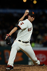 SAN FRANCISCO, CA - JUNE 12: Tony Watson #56 of the San Francisco Giants pitches against the San Diego Padres during the eighth inning at Oracle Park on June 12, 2019 in San Francisco, California. The San Francisco Giants defeated the San Diego Padres 4-2. (Photo by Jason O. Watson/Getty Images) *** Local Caption *** Tony Watson