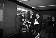 Irish Furniture Fair..1966..27.09.1966..09.27.1966..27th September 1966..Today saw the opening of the Irish Furniture Fair at the Intercontinental Hotel in Dublin. The fair is to promote the quality and value of furniture manufactured within Ireland.