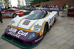 LIVERPOOL, ENGLAND - Tuesday, May 25, 2010: Monaco comes to Liverpool as some of the world's most expensive and powerful vehicles race down Liverpool famous waterfront as a preview to the Cholmondeley Pageant of Power event 17-18th July 2010. (Pic by Mason Williams)
