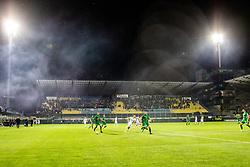 A football game between NK Olimpija Ljubljana and NK Maribor in Final Round (18/19)  of Pokal Slovenije 2018/19, on 30th of May, 2014 in Arena Z'dezele, Ljubljana, Slovenia. Photo by Matic Ritonja / Sportida