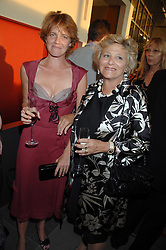 Left to right, ARABELLA RUDLAND and her mother DAME VIVIEN DUFFIELD at a dinner hosted by Vogue in honour of Antony Gormley held at the new Skylon restaurant at the refurbished Royal Festival Hall, South Bank, London on 22nd May 2007.<br /><br />NON EXCLUSIVE - WORLD RIGHTS