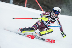 "Estelle Alphand (SWE) competes during 1st Run of FIS Alpine Ski World Cup 2017/18 Ladies' Slalom race named ""Snow Queen Trophy 2018"", on January 3, 2018 in Course Crveni Spust at Sljeme hill, Zagreb, Croatia. Photo by Vid Ponikvar / Sportida"