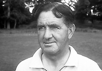 Jimmy Henderson, golfer, professional, Clandeboye Golf Club, Bangor, N Ireland, July, 1969. 196907000192<br /> <br /> <br /> Copyright Image from Victor Patterson, 54 Dorchester Park, <br /> Belfast, UK, BT9 6RJ<br /> <br /> t1: +44 28 9066 1296 (from Rep of Ireland 048 9066 1296)<br /> t2: +44 28 9002 2446 (from Rep of Ireland 048 9002 2446)<br /> m: +44 7802 353836<br /> <br /> e1: victorpatterson@me.com<br /> e2: victorpatterson@gmail.com<br /> <br /> www.victorpatterson.com<br /> <br /> Please see my Terms and Conditions of Use at www.victorpatterson.com. It is IMPORTANT that you familiarise yourself with them.<br /> <br /> Images used on the Internet must be visibly watermarked i.e. © Victor Patterson within the body of the image and copyright metadata must not be deleted. Images used on the Internet have a size restriction of 4kbs and will be chargeable at current NUJ rates unless advised otherwise.<br /> <br /> This image is only available for the use of the download recipient i.e. television station, newspaper, magazine, book publisher, etc, and must not be passed on to any third party. It is also downloaded on condition that each and every usage is notified within 7 days to victorpatterson@me.com<br /> <br /> The right of Victor Patterson to be identified as the author is asserted in accordance with The Copyright Designs And Patents Act (1988).