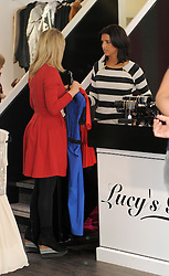 The Only Way Is Essex star Lucy Mecklenburgh and Mario Falcone at Lucy's boutique in Essex, UK. 26/01/2013<br />BYLINE MUST READ : GOTCHAIMAGES.COM<br /><br />Copyright by © Gotcha Images Ltd. All rights reserved.<br />Usage of this image is conditional upon the acceptance <br />of Gotcha Images Ltd, terms and conditions available at<br />www.gotchaimages.com