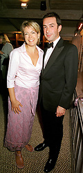 TV presenter PENNY SMITH and MR BOBBY HASHEMI,<br />  at a party in London on 29th June 2000.OFY 14<br /> © Desmond O'Neill Features:- 020 8971 9600<br />    10 Victoria Mews, London.  SW18 3PY <br /> www.donfeatures.com   photos@donfeatures.com<br /> MINIMUM REPRODUCTION FEE AS AGREED.<br /> PHOTOGRAPH BY DOMINIC O'NEILL